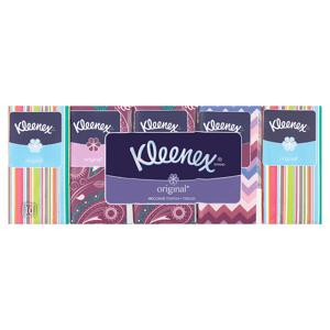 Kleenex Original papírové kapesníčky 3-vrstvé 10 x 10 ks