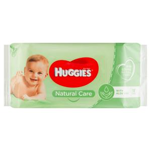 Huggies Natural Care dětské ubrousky 56 ks