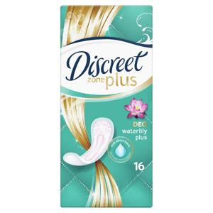 Discreet Plus Waterlily Prodyšné Intimky 16 ks