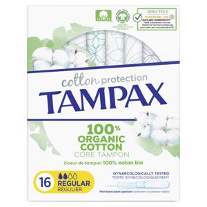 Tampax Cotton Protection Regular Tampony S Aplikátorem 16ks