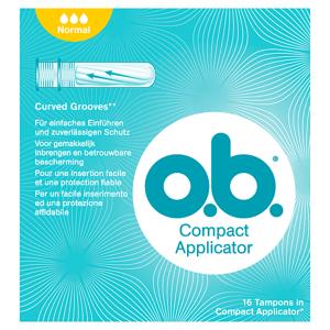 O.B. Compact Applicator Normal tampony 16 ks