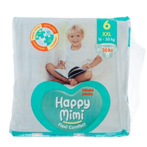 Happy Mimi FC dět.pleny XXL (30ks/fol)