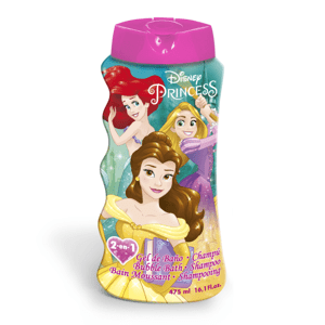 Princezny 2v1 Šampón a Pěna do koupele 475 ml