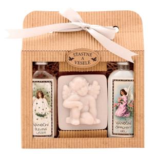 Bohemia Gifts & Cosmetics Vánoční  sada Anděl