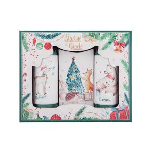 Bohemia Gifts & Cosmetics Vánoční  sada Šťastné a veselé