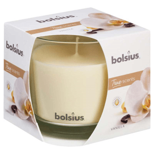 Bolsius Aromatic 2.0 svíčka ve skle Vanilla 95x95mm