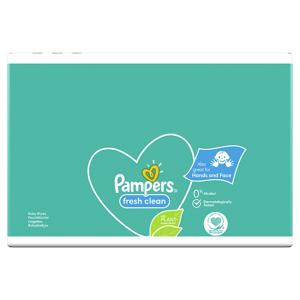 Pampers Fresh Clean Dětské Čisticí Ubrousky 1 Balení = 52 Dětských Čisticích Ubrousků