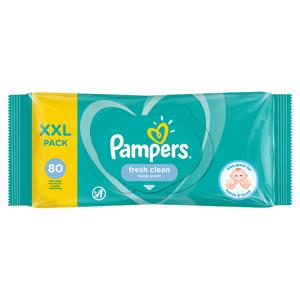 Pampers Fresh Clean Dětské Čisticí Ubrousky 1 Balení = 80 Dětských Čisticích Ubrousků