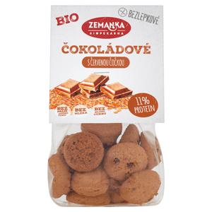 Biopekárna Zemanka Bezlepkové čočkové bio hrudky s kokosem a čokoládou 100g