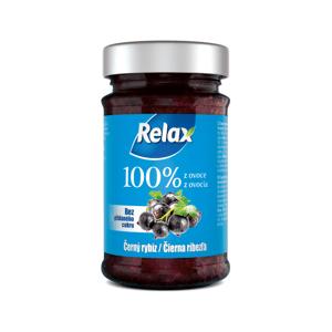 Relax 100% z ovoce ČERNÝ RYBÍZ 220g sklo