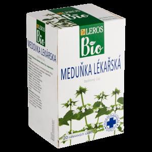 Leros Bio Meduňka lékařská byliný čaj 20 x 1g (20g)