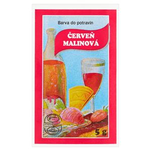 Barva do potravin červeň malinová 5g