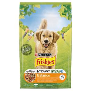 FRISKIES® pro dospělé psy Balance s kuřetem a zeleninou 10kg