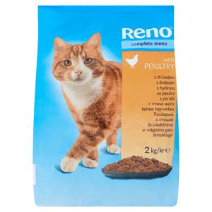 Reno Kompletní krmivo pro dospělé kočky s drůbežím 2kg