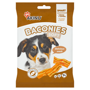 Akinu Baconies Soft slaninky 85g