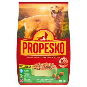 Propesko Wellness S jehněčím, s rýží a zeleninou kompletní krmivo pro dospělé psy 10kg