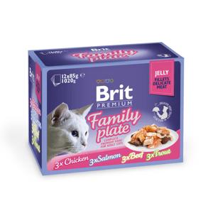 Brit premium kapsičky pro kočky 12x85g