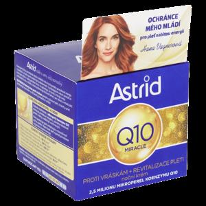 ASTRID Q10 MIRACLE Noc krém 50 ml