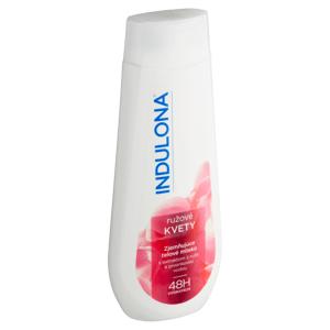 Indulona Zjemňující tělové mléko růžové květy 400ml