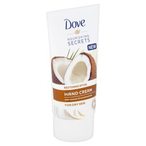 Dove Pečující Rituál krém na ruce s kokosovým olejem a mandlovým mlékem 75ml