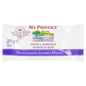 Ma Provence Pravé přírodní mýdlo z Marseille levandule 200g