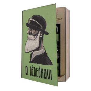 Kosmetická sada kniha pro dědečka – gel 200ml a lázeň 200ml