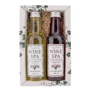 Dárková sada Wine Spa – gel 200 ml a šampon 200 ml