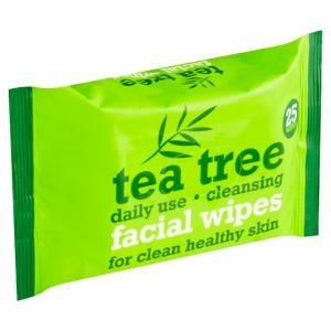 Tea Tree Facial Wipes 25 ks