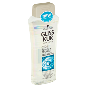 Gliss Kur šampon Purify & Protect 400ml