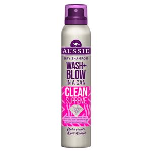 Aussie Wash + Blow Clean Supreme Suchý Šampon 180 ml