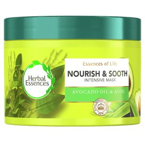 Herbal Essences Vyživující Maska Na Vlasy SAvokádovým Olejem, Pro Suché Vlasy APokožku Hlavy