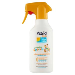Astrid Sun Rodinné mléko na opalování ve spreji OF 30 300ml
