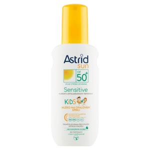 Astrid Sun Sensitive dětské mléko na opalování sprej OF 50+ 150ml