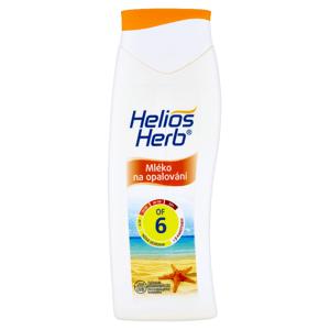Helios Herb Mléko na opalování OF 6 200ml