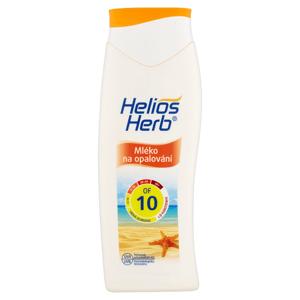 Helios Herb Mléko na opalování OF 10 200ml