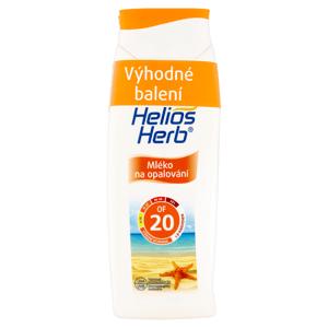 Helios Herb Mléko na opalování OF 20 + mléko po opalování 2 x 200ml