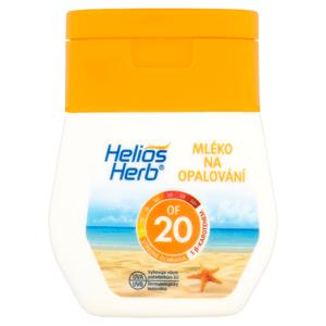 Helios Herb Mléko na opalování OF 20 50ml