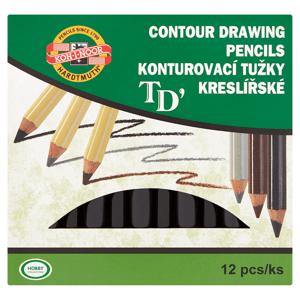 Koh-I-Noor Konturovací tužky kreslířské 3221 12 ks