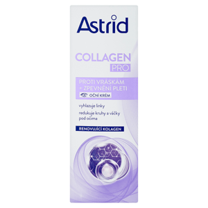 Astrid Collagen Pro Oční krém proti vráskám 15ml