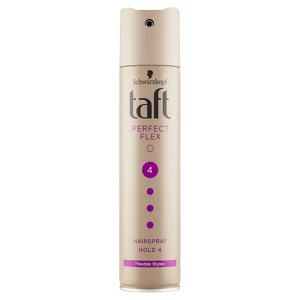 Taft lak na vlasy pro dokonalou kontrolu a flexibilní účesy Perfect Flex 250ml