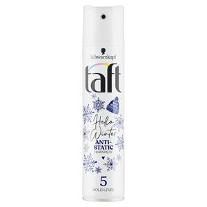 Taft Hello Winter antistatický lak na vlasy Hold Level 5 250ml