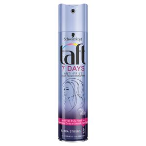 Taft lak na vlasy 7 Days Extra Strong 3 250ml