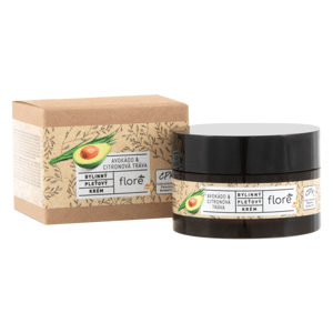 Floré Bylinný pleťový krém avokádo & citronová tráva 50ml