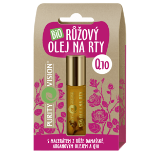 PURITY VISION Bio Růžový olej na rty10ml