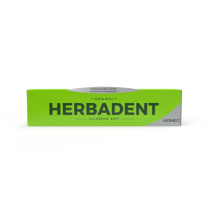 HERBADENT HOMEO Bylinná zubní pasta bez fluoru 100 g