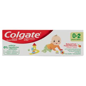 Colgate Natural Fruit zubní pasta 0-2 roky 50ml