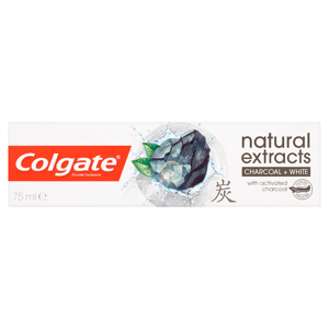 Colgate Natural Extracts Charcoal + White zubní pasta 75ml