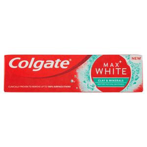 Colgate Max White Clay & Minerals zubní pasta 75ml