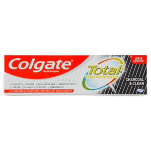 Colgate Total Charcoal & Clean zubní pasta 75ml