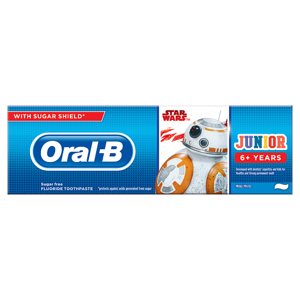 Oral-B Junior Star Wars Zubní Pasta 75ml, Od 6 Let